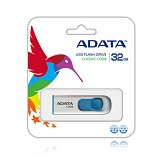 ADATA Classic 32GB [C008] - White (Merchant) - USB Flash Disk Basic 2.0